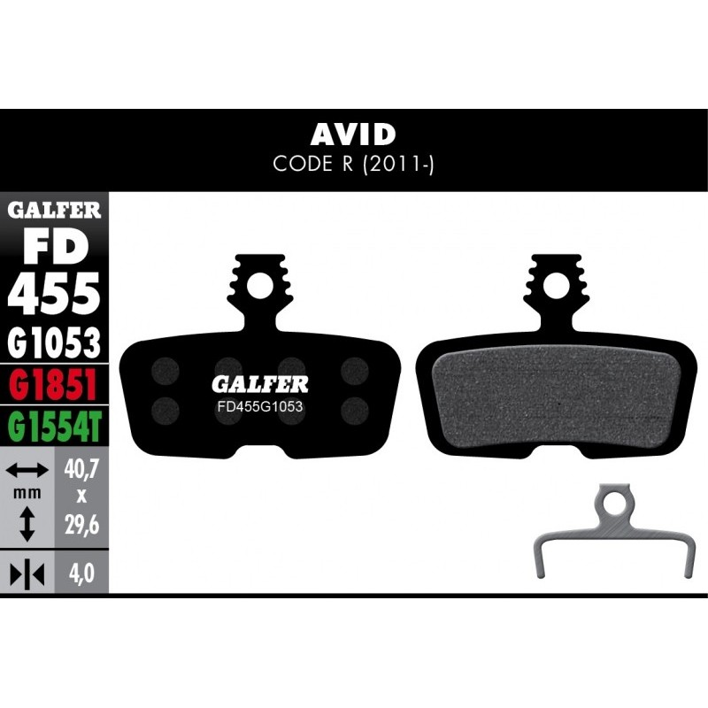 Galfer AVID/SRAM FD455