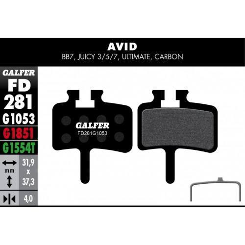 Galfer AVID / SHIMANO / AVID-30párů