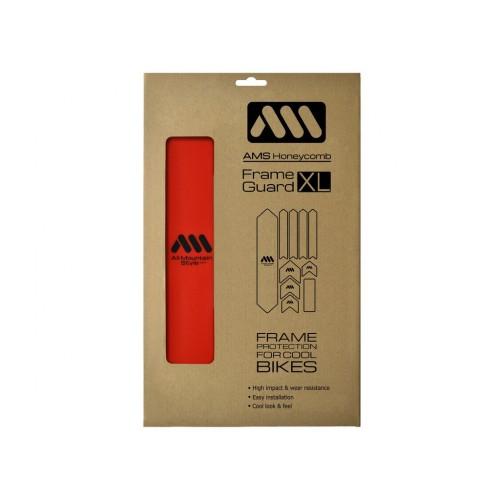 AMS Frame XL Red naklejki ochronne