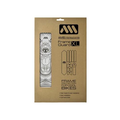 AMS Frame polep XL Clear/Wolf