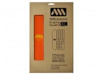 AMS Frame polep XL Orange/Yellow