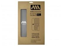 AMS Frame polep XL Silver/White