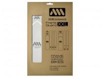 AMS Frame XXL Clear/Silver naklejki ochronne