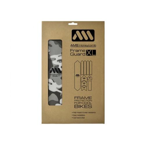 AMS Frame polep XL Clear/Camo