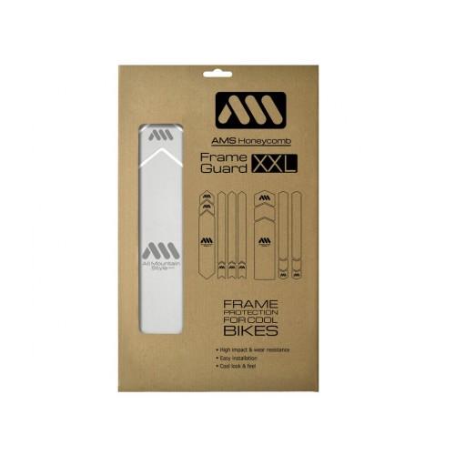 AMS Frame XXL Clear/Silver...