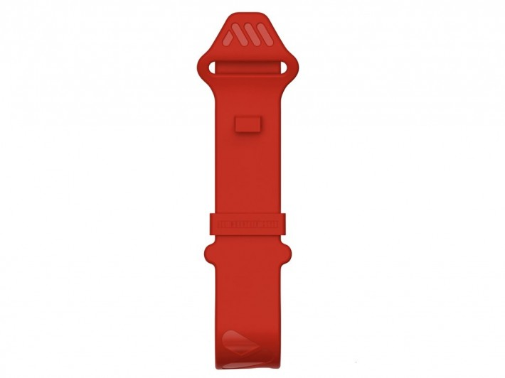 AMS OS  stahovací pásek Red