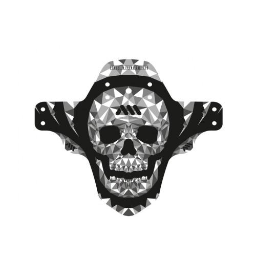 AMS Mud blatníček Grey/Skull