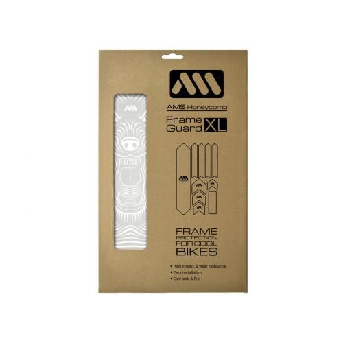 AMS Frame polep XL White/Wolf