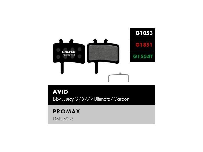 Galfer FD281 - Avid, Promax