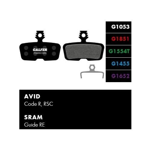 Galfer FD455 - Avid, Sram