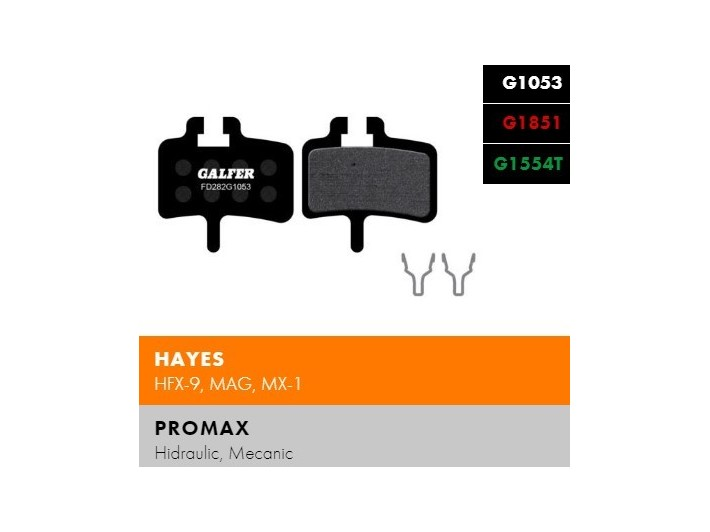 Galfer FD282 - Hayes, Promax